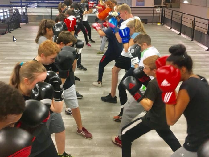 Reprise boxe éducative lundi 09 septembre 2019