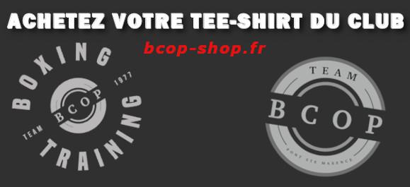 Achetez votre tee-shirt du club